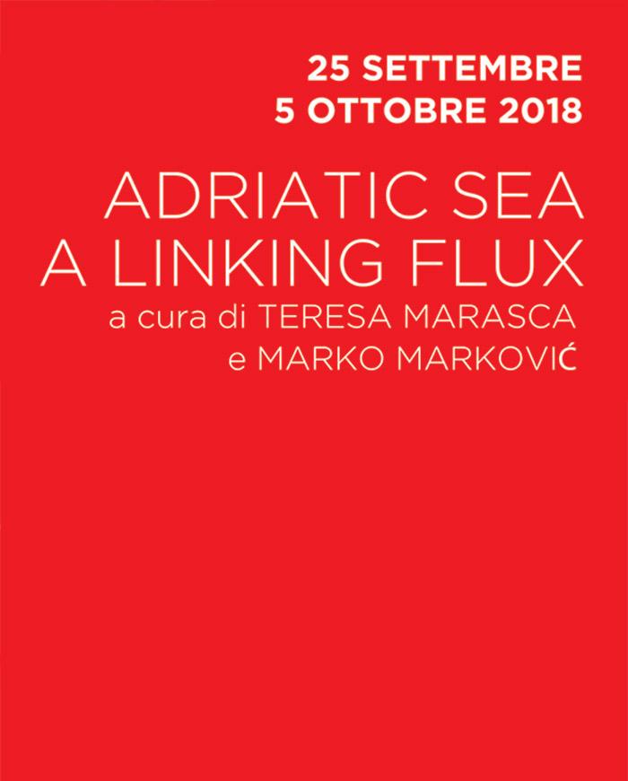 Adriatic sea a linking flux