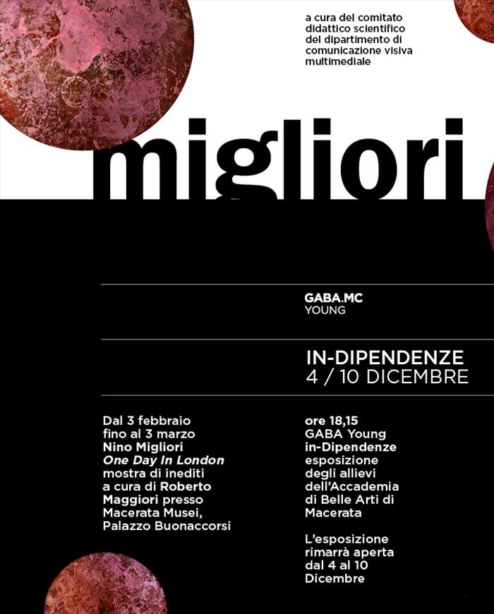 inDipendenze - la sperimentazione di Nino Migliori