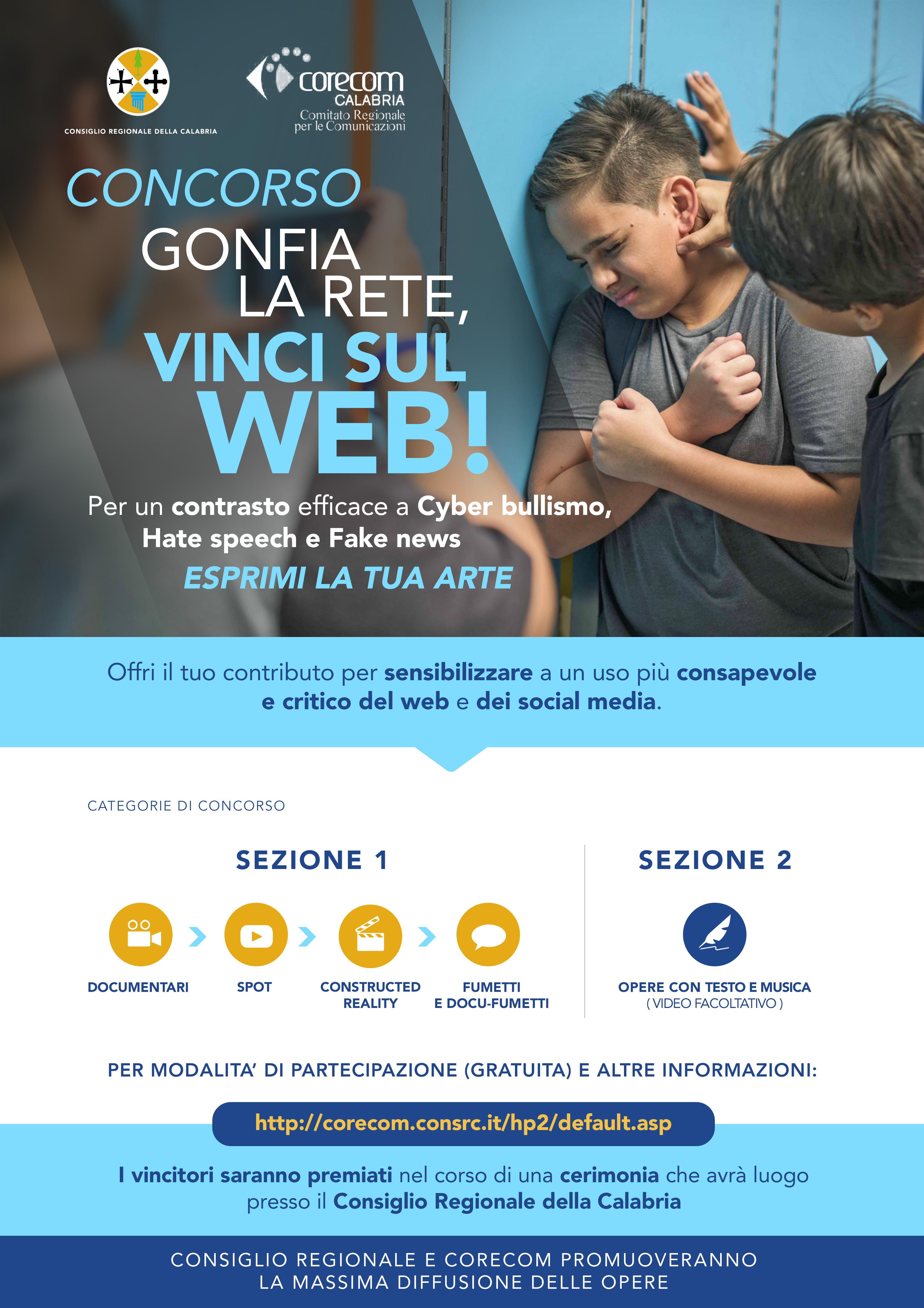 GONFIA LA RETE, VINCI SUL WEB