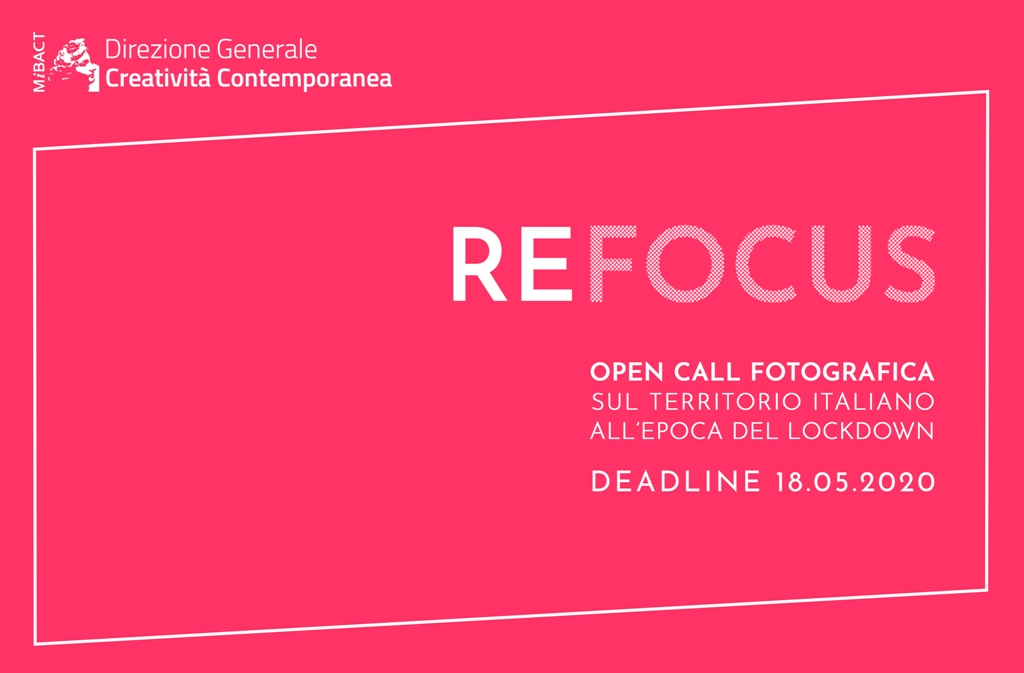 Open call fotografica sul territorio italiano all'epoca del lockdown