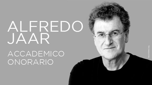 Alfredo Jaar Accademico Honoris Causa