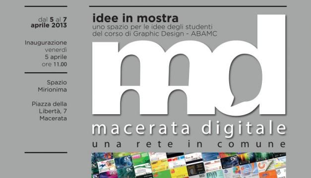 Macerata Digitale: Idee in Mostra
