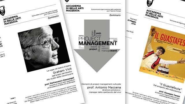 3 Seminari a cura del Prof. Pompei