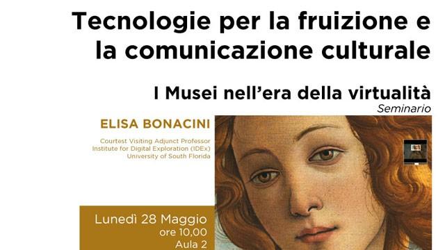 Tecnologie per la fruizione e la comunicazione culturale