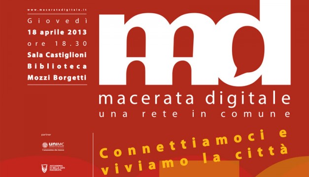 Macerata digitale: giovedì la presentazione della carta giovani e del wi-fi free
